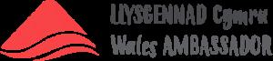 Llysgennad Cymru Wales Ambassador logo